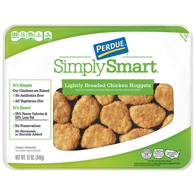 PERDUE® SIMPLY SMART®  Lightly Breaded Nuggets (12 oz)