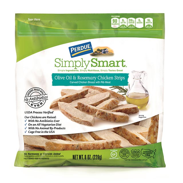 PERDUE® SIMPLY SMART® Olive Oil and Rosemary Chicken Strips (8 oz.)