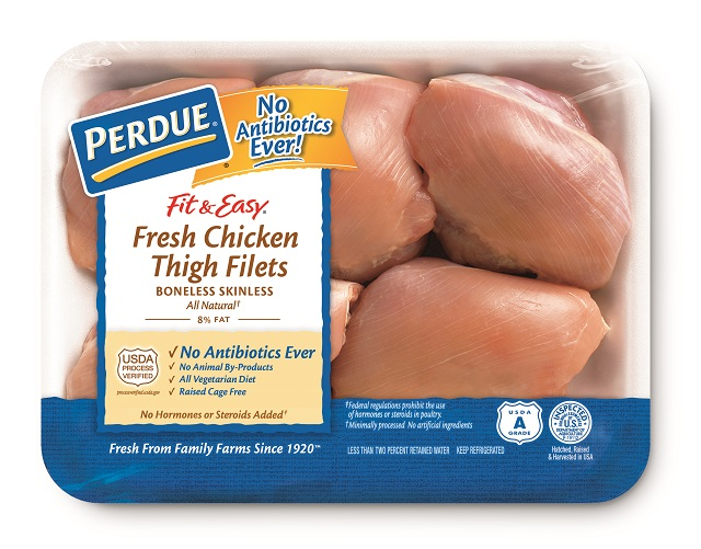PERDUE® FIT & EASY® Boneless, Skinless Chicken Thigh Filets