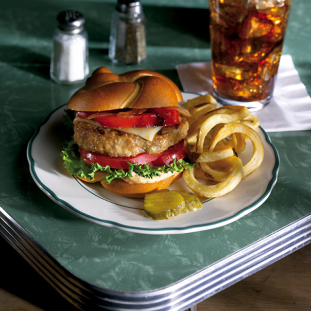 PERDUE® NAE RTC 4 oz. White Turkey Burgers