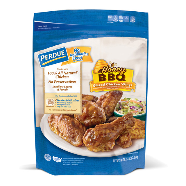 PERDUE®  Honey BBQ Glazed Jumbo Chicken Wings (5 lbs.)