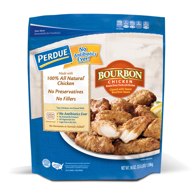 PERDUE® Breaded Chicken Breast Chunks, Bourbon Glazed, for Clubs (56 oz.)