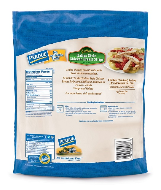 Perdue Fully Cooked NAE Italian-Style Chicken Breast Strips (22 oz.)