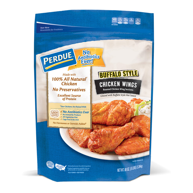 PERDUE® Buffalo Style Glazed Chicken Wings, for Clubs (80 oz.)