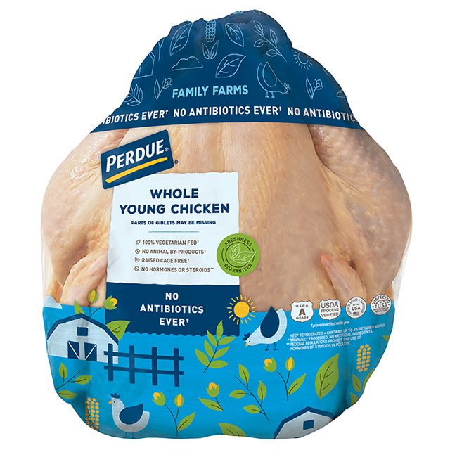 PERDUE® Fresh Whole Chicken with Giblets
