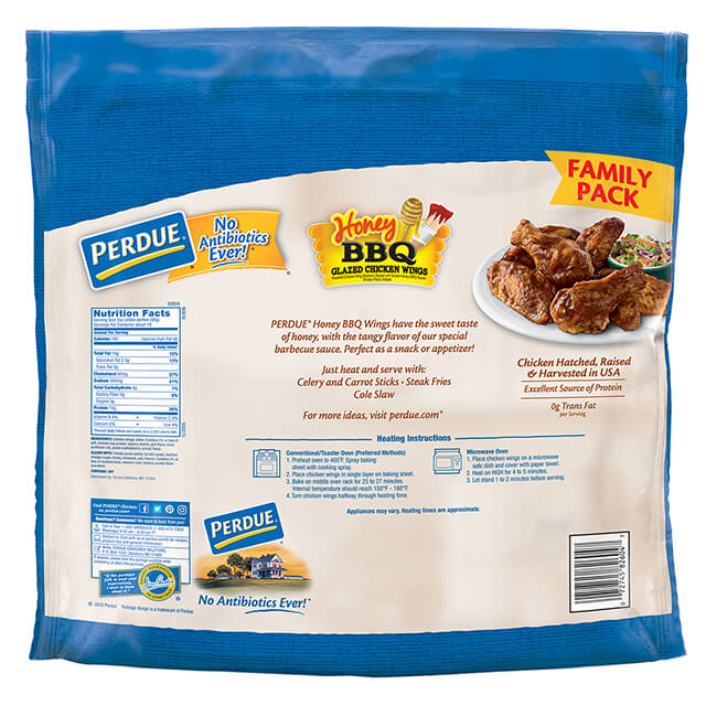 PERDUE® Honey BBQ Glazed Jumbo Wings (5 lbs.)