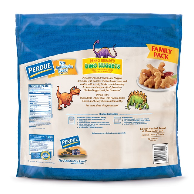 PERDUE® Panko Breaded Dino Nuggets, Family Pack (3.25 lbs)