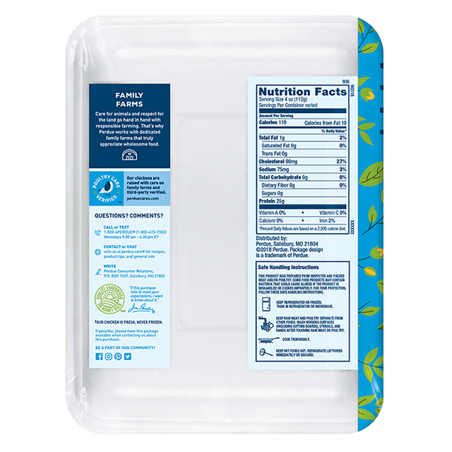 Product Details   Perdue Retail Trade
